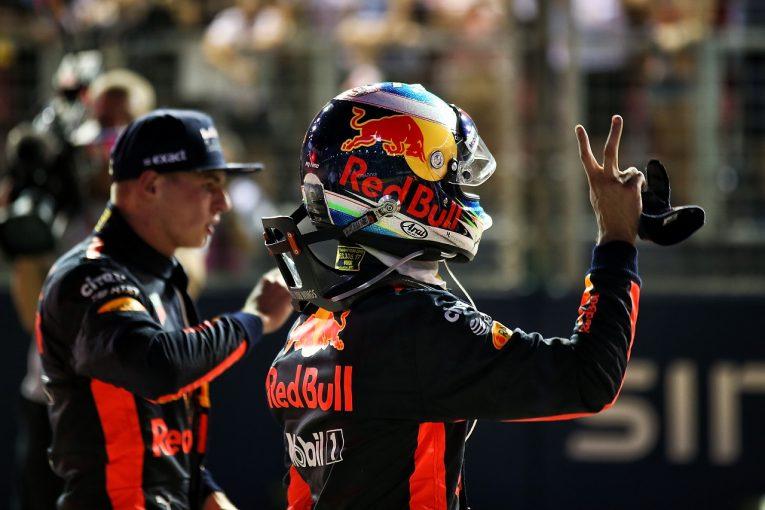 F1 | リカルド「今日は負けを認めよう。でも優勝のチャンスはまだある」:レッドブル F1シンガポール土曜