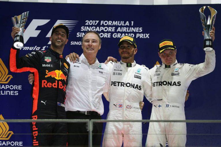 F1   【順位結果】F1第14戦シンガポールGP決勝