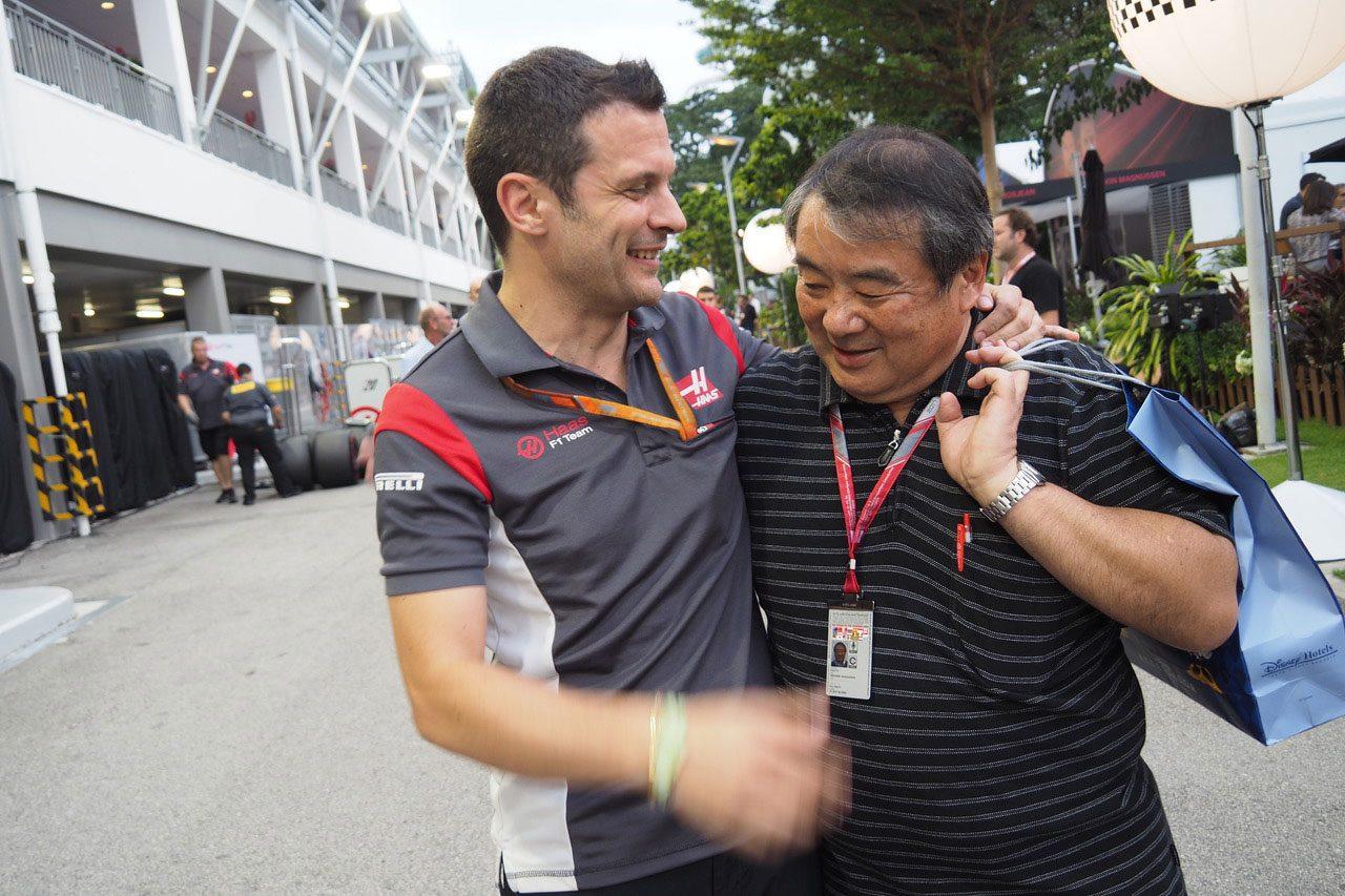F1第14戦シンガポールGP 現地情報2回目