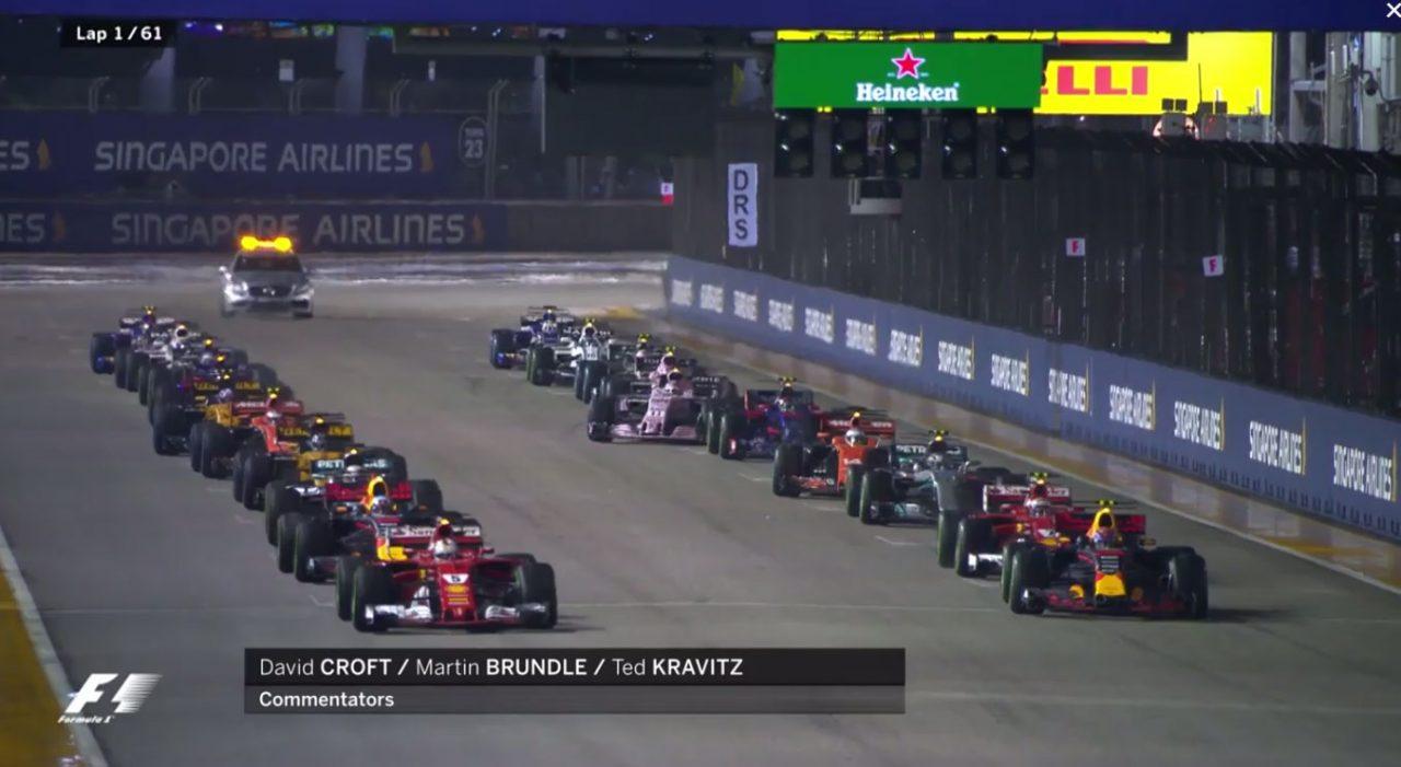 【動画】F1シンガポールGP決勝ハイライト