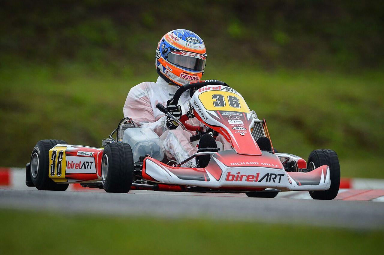 クインタレッリが18年ぶりにカート世界選手権に挑戦。「素晴らしい経験」を終える