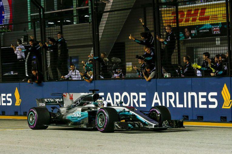 F1 | F1シンガポールGP決勝トップ10ドライバーコメント