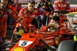 F1 | 雨のF1シンガポールGP、過剰な防衛反応で逆境に追い込まれたベッテル【今宮純の視点】