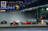 モタスポブログ | Shots!──世界で1番運転の上手い人たちのはずが…@熱田カメラマン F1シンガポールGP 日曜