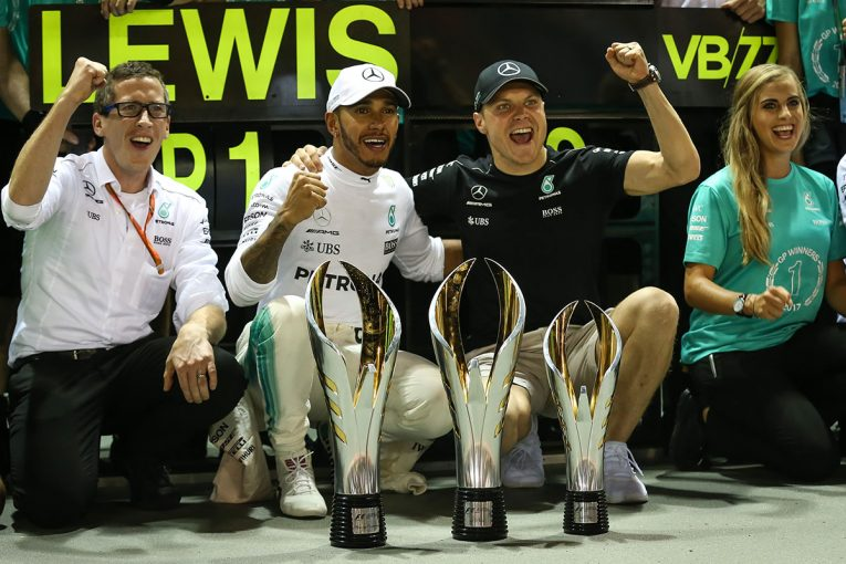 F1 | 【F1シンガポールGP無線レビュー】速さと戦略、全てがかみ合ったメルセデスのチーム力