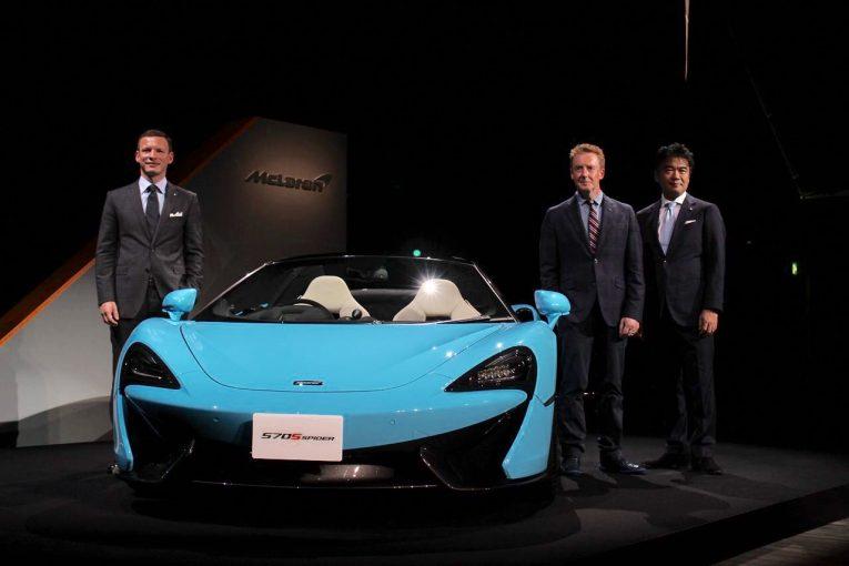 クルマ | 高いパフォーマンスと実用性を両立。マクラーレン、新型スポーツカー『570Sスパイダー』をアジア初公開
