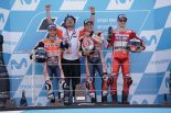 2017年第14戦アラゴンGP決勝トップ3