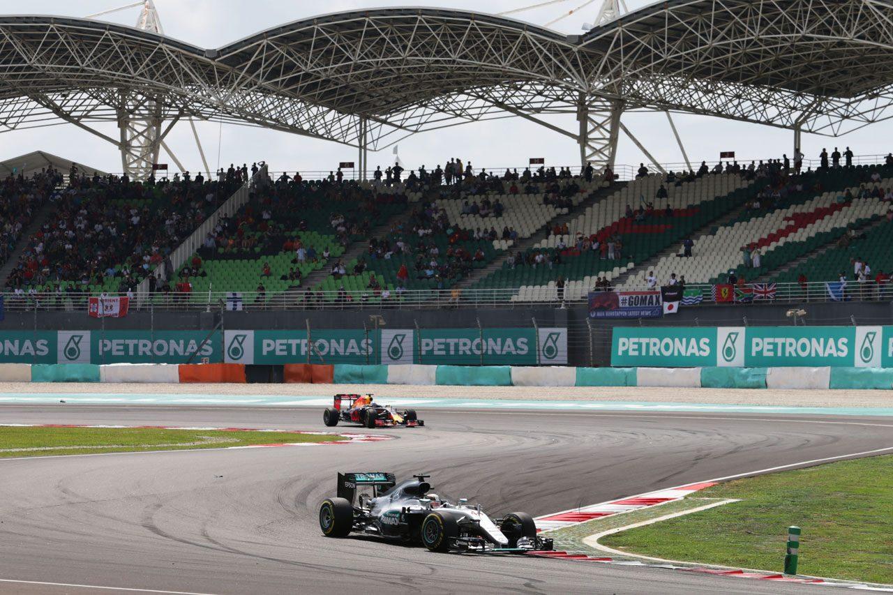 2016年F1マレーシアGP ルイス・ハミルトン(メルセデス)