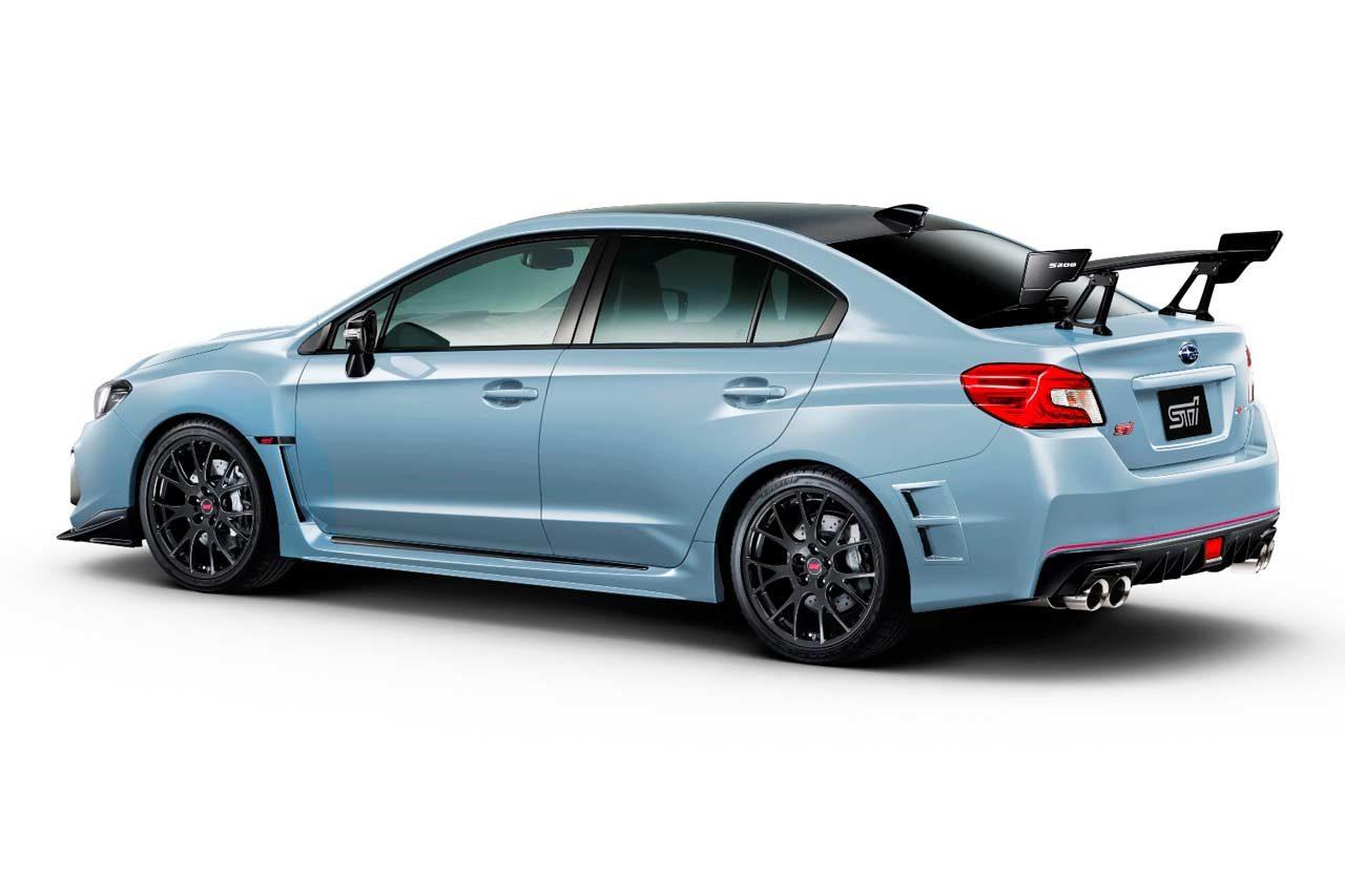 スバル、WRX STIベースの450台限定車『S208』など、東京モーターショーに出展