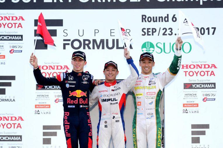 スーパーフォーミュラ | スーパーフォーミュラ:TOYOTA GAZOO Racing 2017第6戦SUGO レースレポート