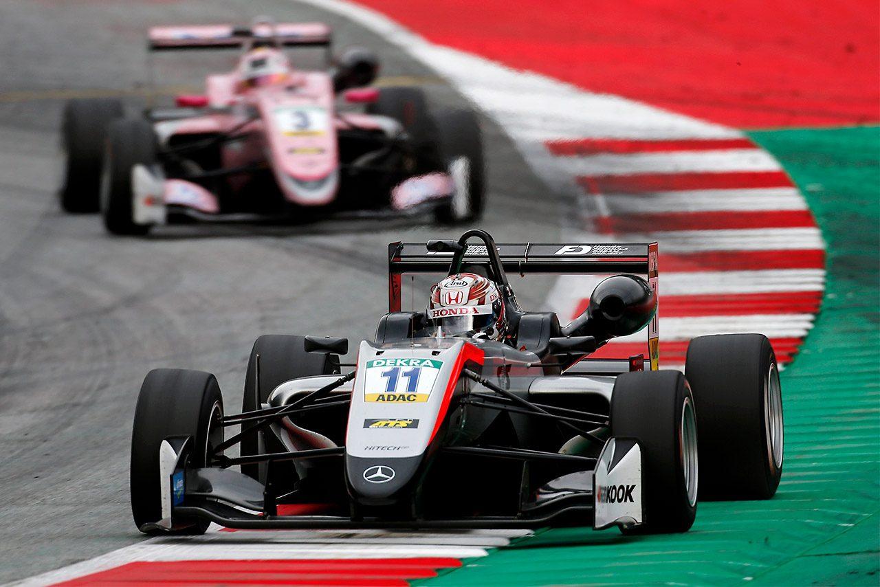 FIAヨーロピアンF3第9ラウンドレッドブルリンクで牧野任祐が3位。初表彰台を獲得