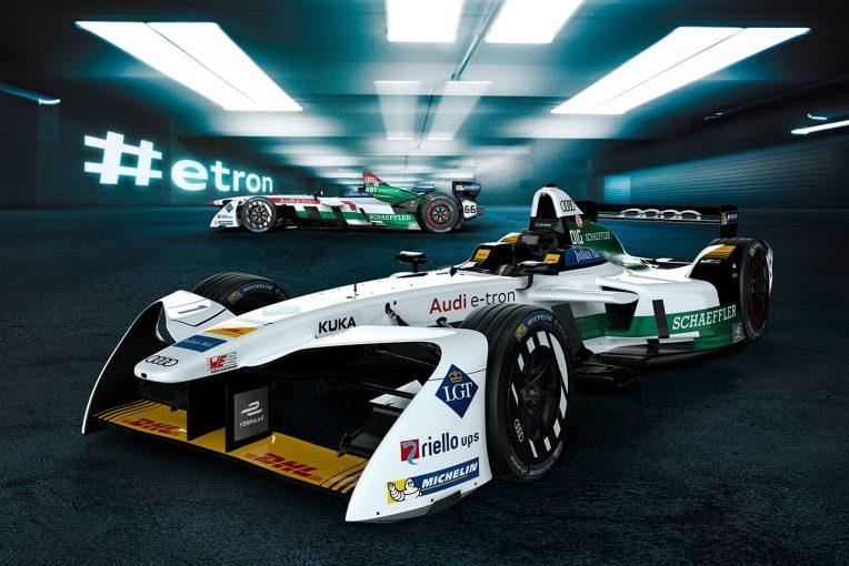 海外レース他 | フォーミュラE:アウディとルノー、2017/18年シーズンの新型マシンをアンベイル