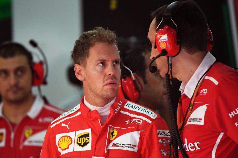 F1 | ベッテル、F1タイトル獲得へ向け前向き。「首位とのポイント差は気にしていない」