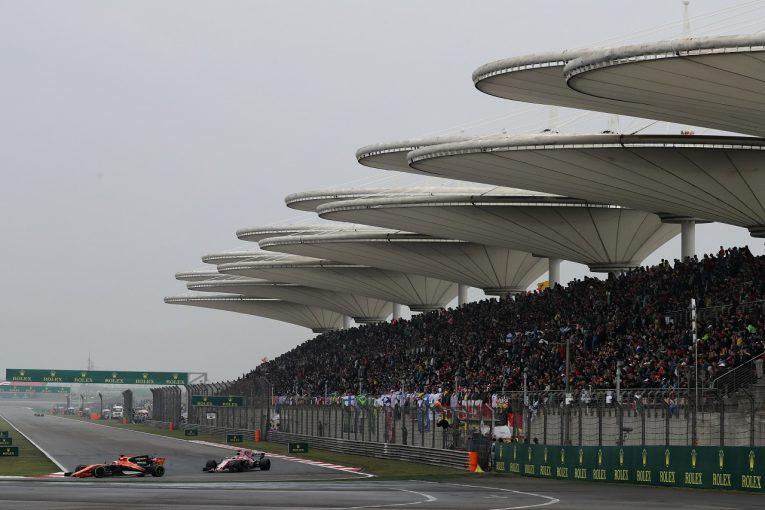 F1 | F1中国GPの開催契約が2020年まで延長。2018年開催日は変更へ