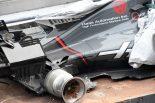 F1 | 【動画】グロージャンが大クラッシュ。縁石の排水口のフタが外れる/F1マレーシアGPフリー走行2回目