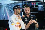 F1 | リカルド「インターミディエイトでは誰にも負けない。雨の予選になってほしい!」レッドブル F1マレーシア