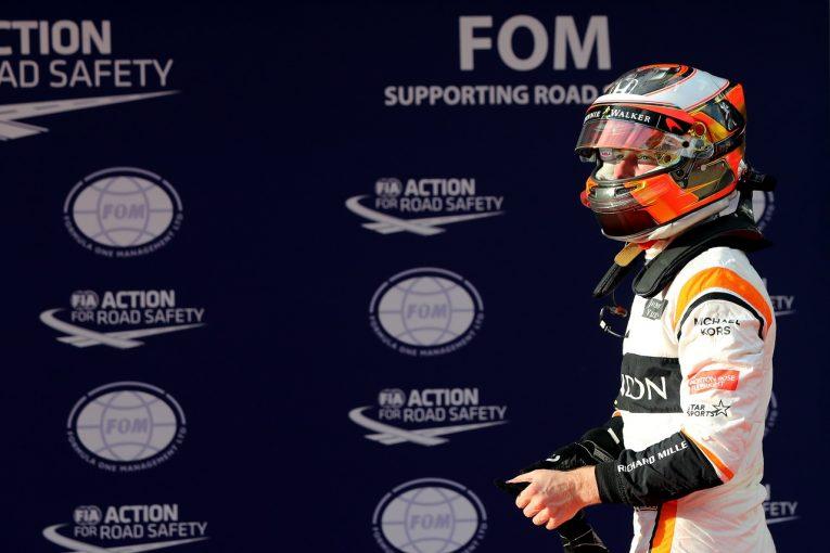 F1 | バンドーン「マレーシアでキャリアベストの予選7位とはうれしい驚き」マクラーレン・ホンダF1