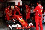 F1 | ベッテル、最後尾スタートへ「PPが見えていたのに、トラブルで走れないなんてツイてない」フェラーリF1