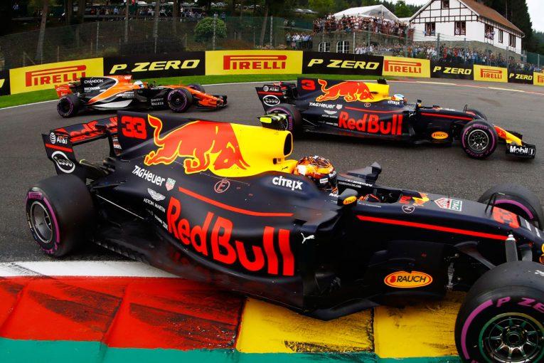 F1 | レッドブルF1、2019年以降のパワーユニットは来春決定「ホンダの進歩を見守っていく」
