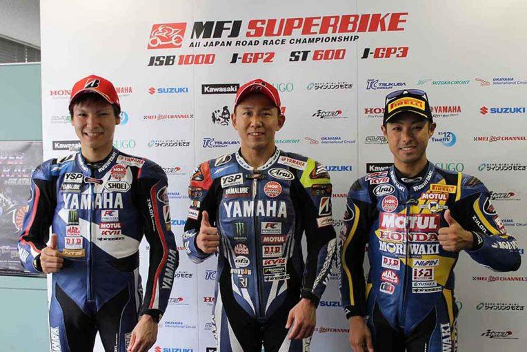 MotoGP   中須賀「少し自信を取り戻すことができた」/全日本ロード第8戦岡山決勝トップ3コメント