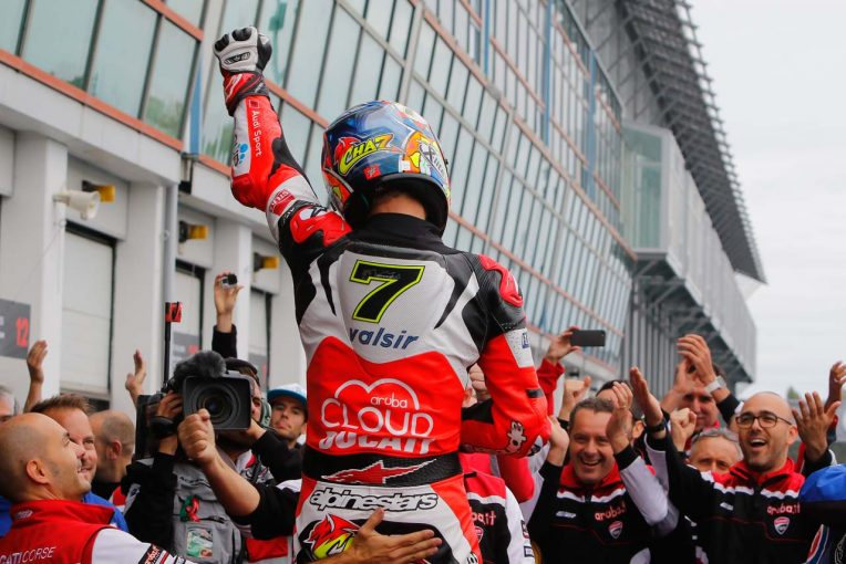 MotoGP   SBK第11戦レース2:ドゥカティのデイビスが今季7勝目。レイは接触でリタイアに