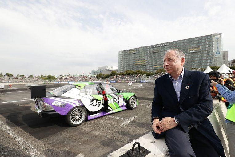 海外レース他 | ジャン・トッド会長、初開催のドリフティングカップに手応え。「ドリフトは今後成長していく競技」