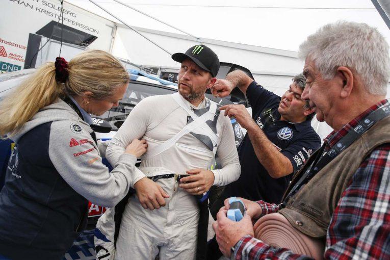 ラリー/WRC | 世界ラリークロス:骨折のソルベルグQ3、Q4最速も及ばず。エクストロームが4勝目