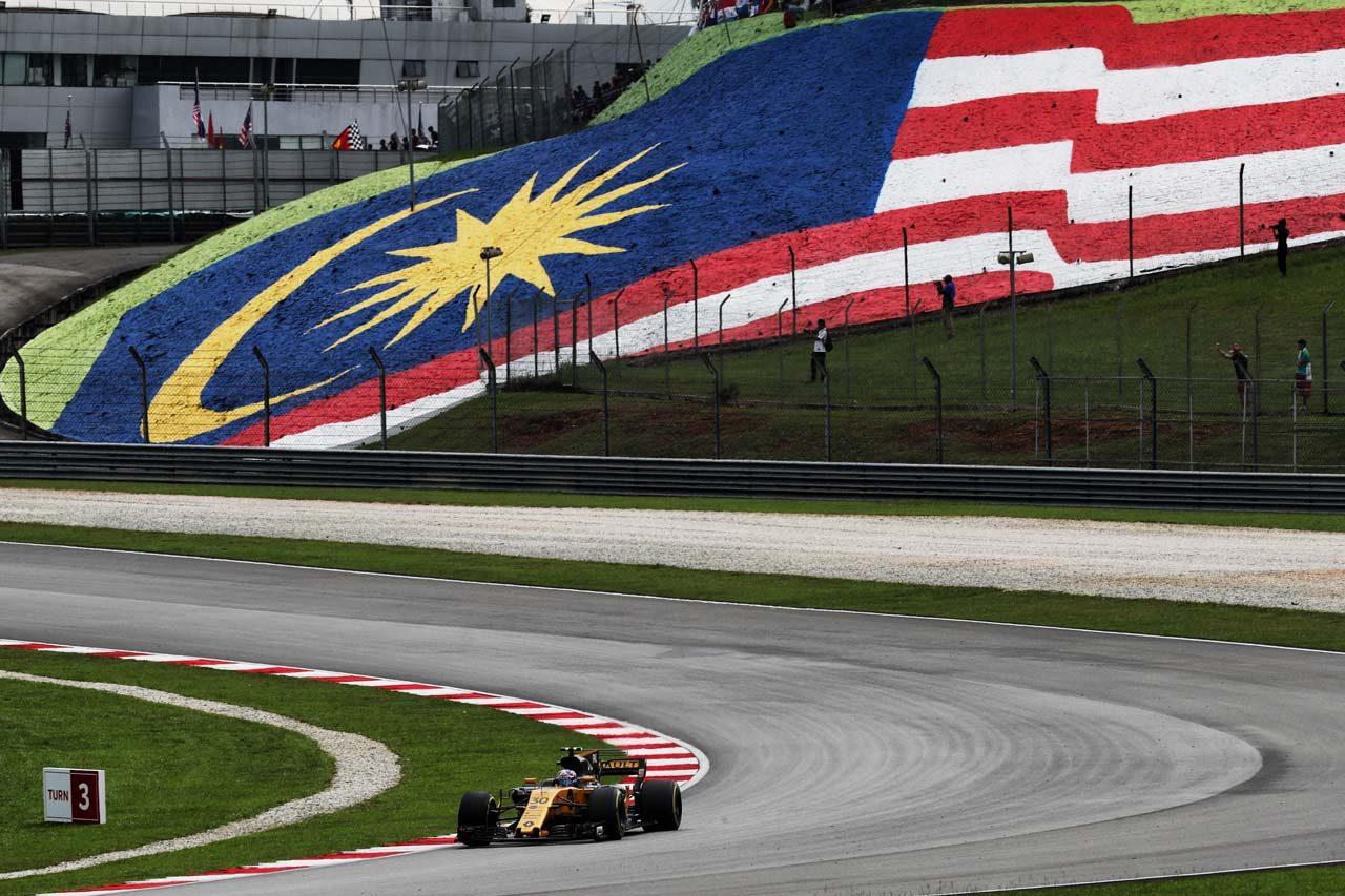 2017年F1第15戦マレーシアGP ジョリオン・ジョリオン・パーマー