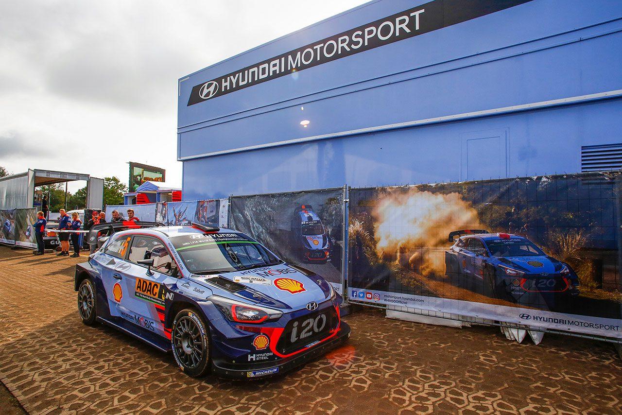 WRC:ヒュンダイ、ラリーGBに4台目のWRカー投入。強力布陣で「両タイトル獲得を後押し」
