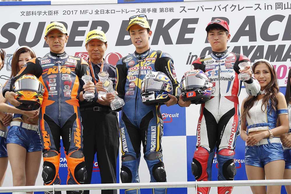 全日本ロード:MORIWAKI MOTUL RACING 2017第8戦岡山 レースレポート