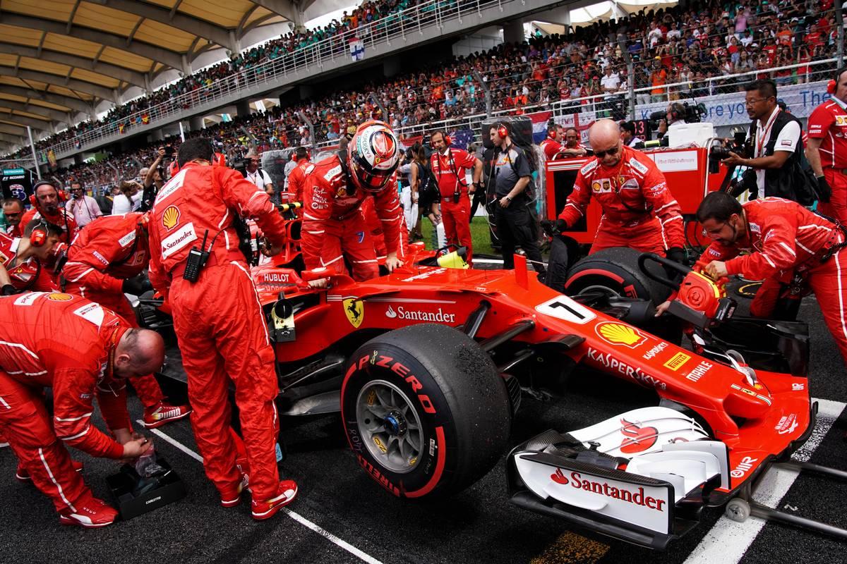 2017年F1マレーシアGPでのライコネン