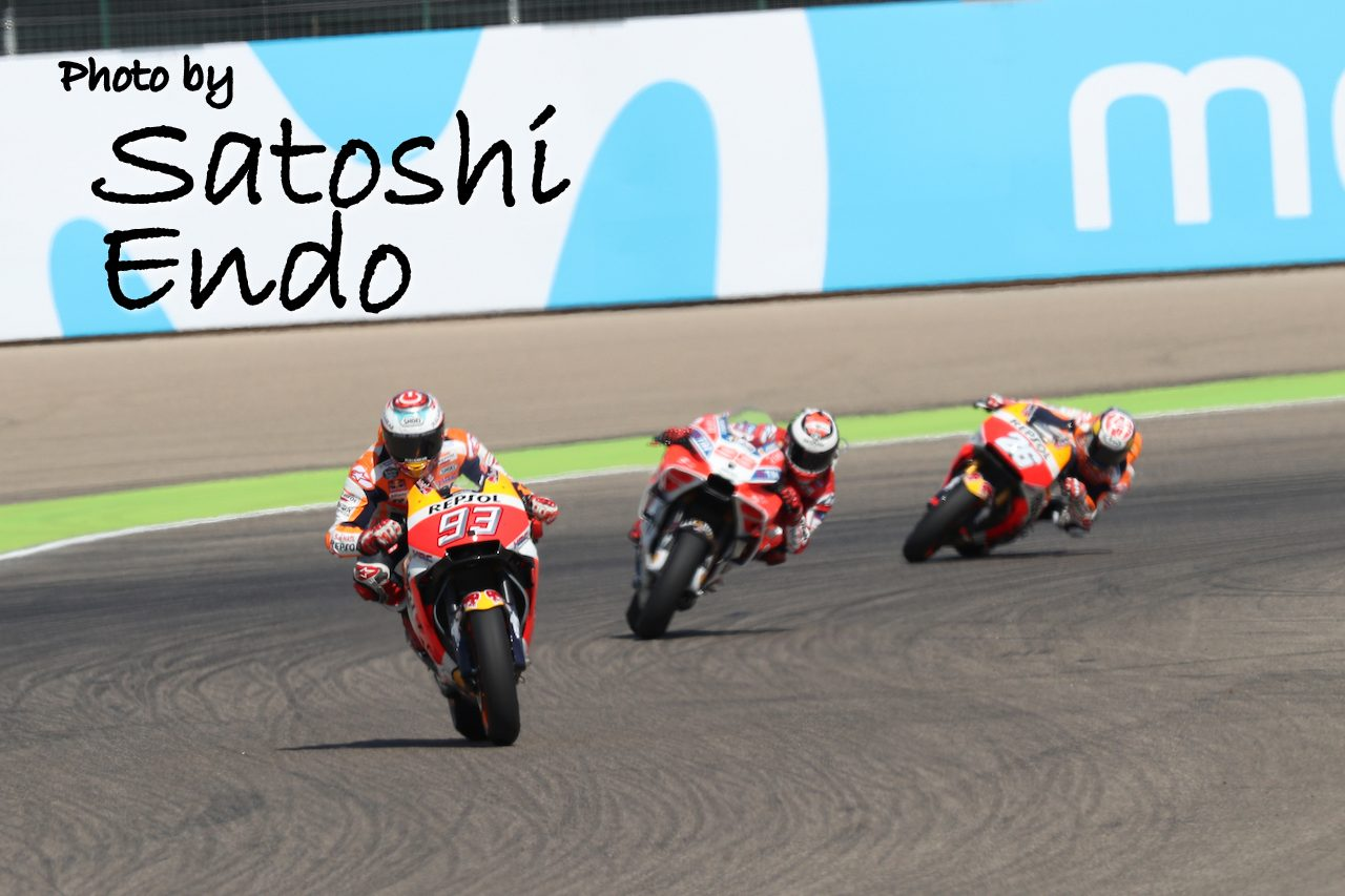 MotoGP現地トピックス:スペイン人が大活躍のアラゴン。前戦欠場のロッシは完全復活