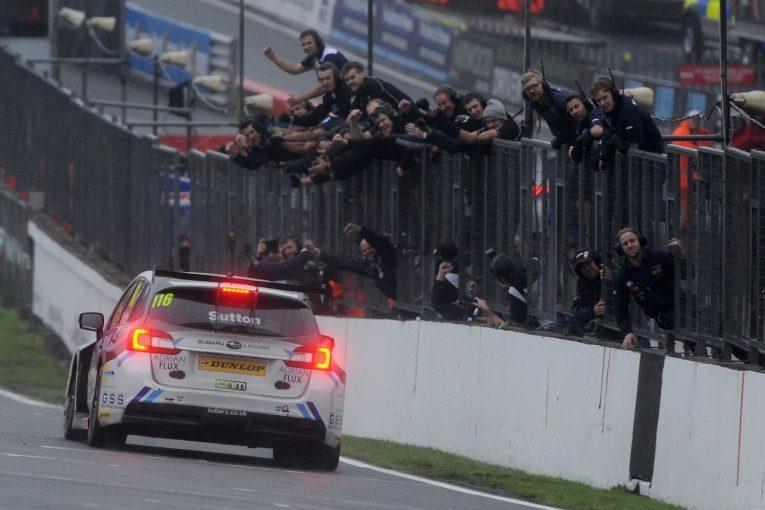 海外レース他 | BTCC:スバル・レヴォーグがタイトル獲得、アシュリー・サットンが初王者に