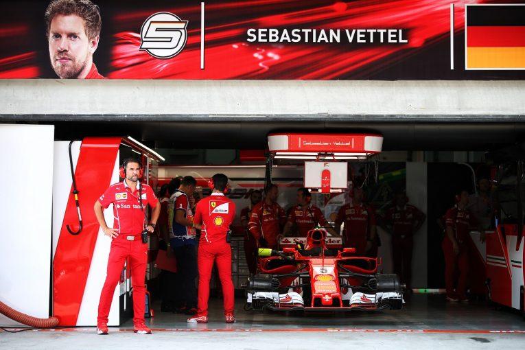F1 | ベッテル、F1日本GPでのグリッド降格を回避へ。ギヤボックスに損傷なし