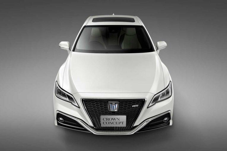 クルマ | トヨタ、東京モーターショーで次期型『クラウン』のコンセプトモデルを初公開