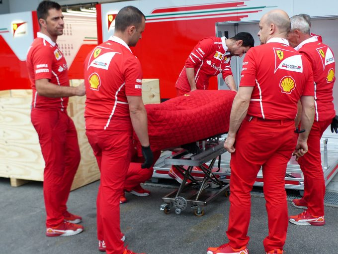 F1 | F1 Topic:本当にダメージはない?土曜日の走行まで安心できないベッテルのギヤボックス問題