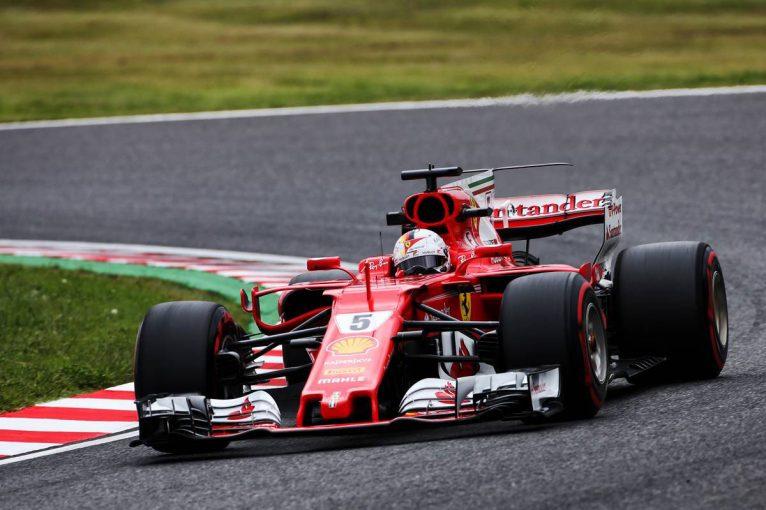 F1 | F1日本GP FP1:セッション終盤に雨が降る中ベッテルがトップ、マクラーレン・ホンダは10、12番手