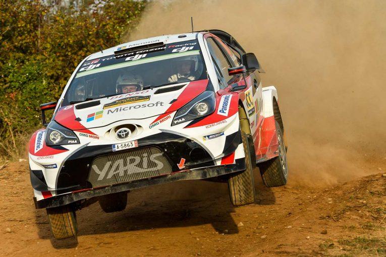 ラリー/WRC   WRC:トヨタ、シェイクダウンで最終調整を完了。「本番を重視したためトリッキーだった」