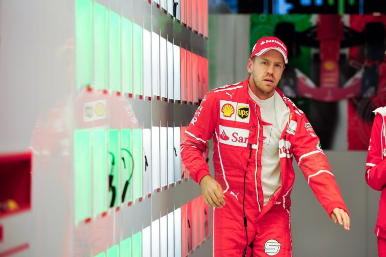 F1 | ベッテル「ギヤボックスはおそらく問題ないはず」:フェラーリ F1日本金曜