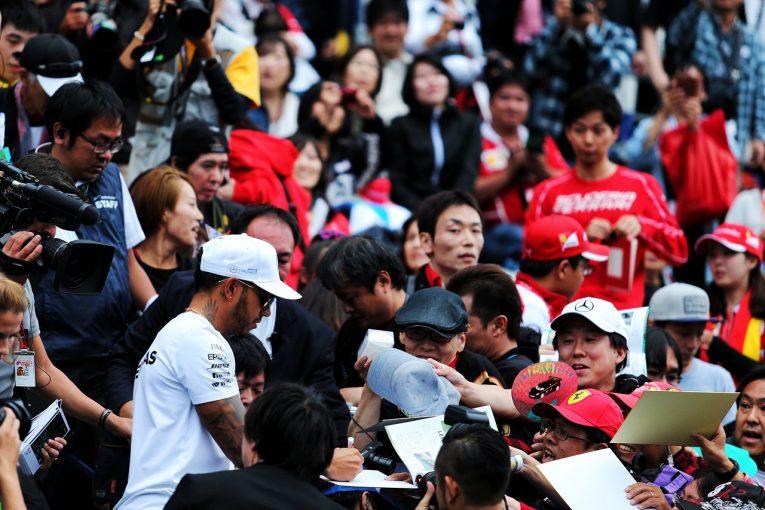 F1 | ハミルトン「マシンの調子が戻ったと感じる。フェラーリと戦いたい」:メルセデス F1日本金曜
