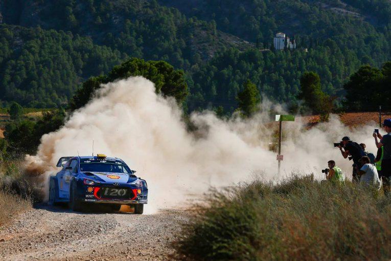ラリー/WRC | ヒュンダイ加入のミケルセンが好スタート/【順位結果】WRC第11戦スペイン SS6後