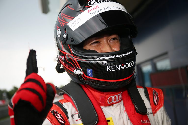 スーパーGT | スーパーGT:スコールに翻弄された予選でダンロップ履くHitotsuyama Audiがチーム初ポール
