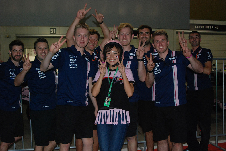 笠原美香の『F1日本グランプリにやってきた!ョ』