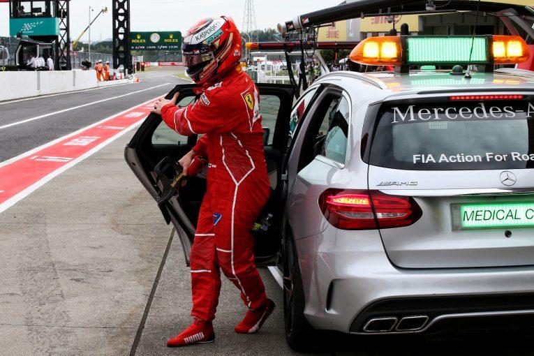 F1 | ライコネン「ミスの代償は大きい。予選にも決勝にも大きな影響が」:フェラーリ F1日本土曜