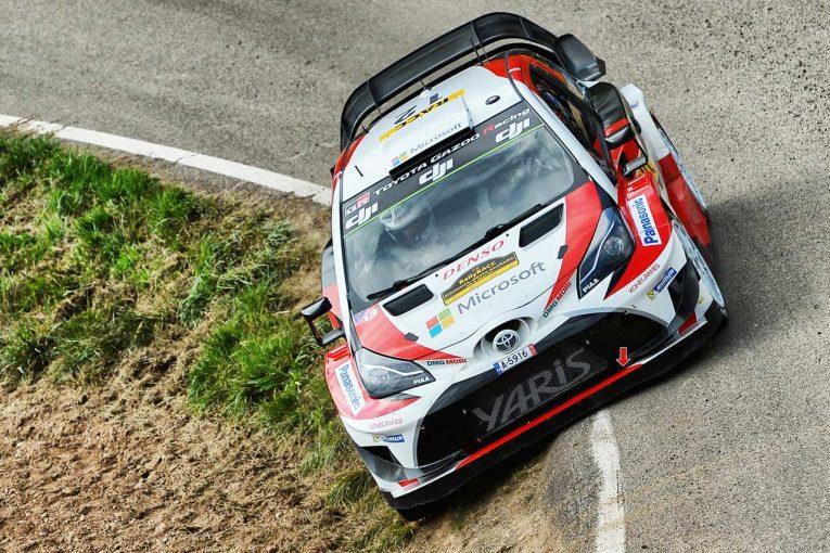 ラリー/WRC   WRC:トヨタ、期待通りの走りでポジションアップに成功。「素晴らしい一日になった」とマキネン