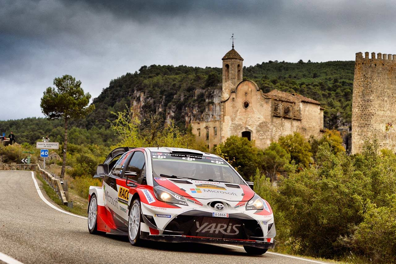 WRC:トヨタ、期待通りの走りでポジションアップに成功。「素晴らしい一日になった」とマキネン