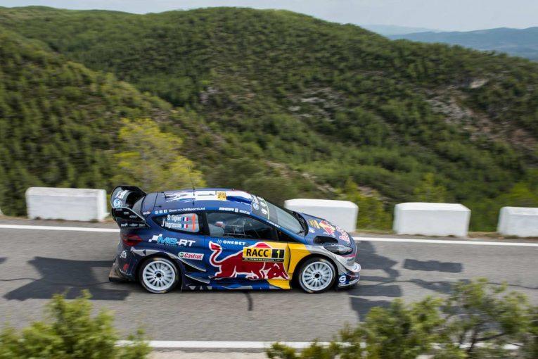 ラリー/WRC | オジエ「優勝を目指すが、ミークがかなり先を行っている」/WRC第11戦スペイン デイ2コメント