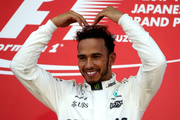 F1 | F1日本GP決勝:ハミルトンが優勝、ベッテルは無念のリタイア。マクラーレン・ホンダはあと一歩届かず