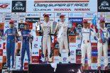 2017スーパーGT第7戦タイ GT500クラス表彰台