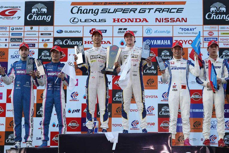 スーパーGT | 2017スーパーGT第7戦タイまとめ